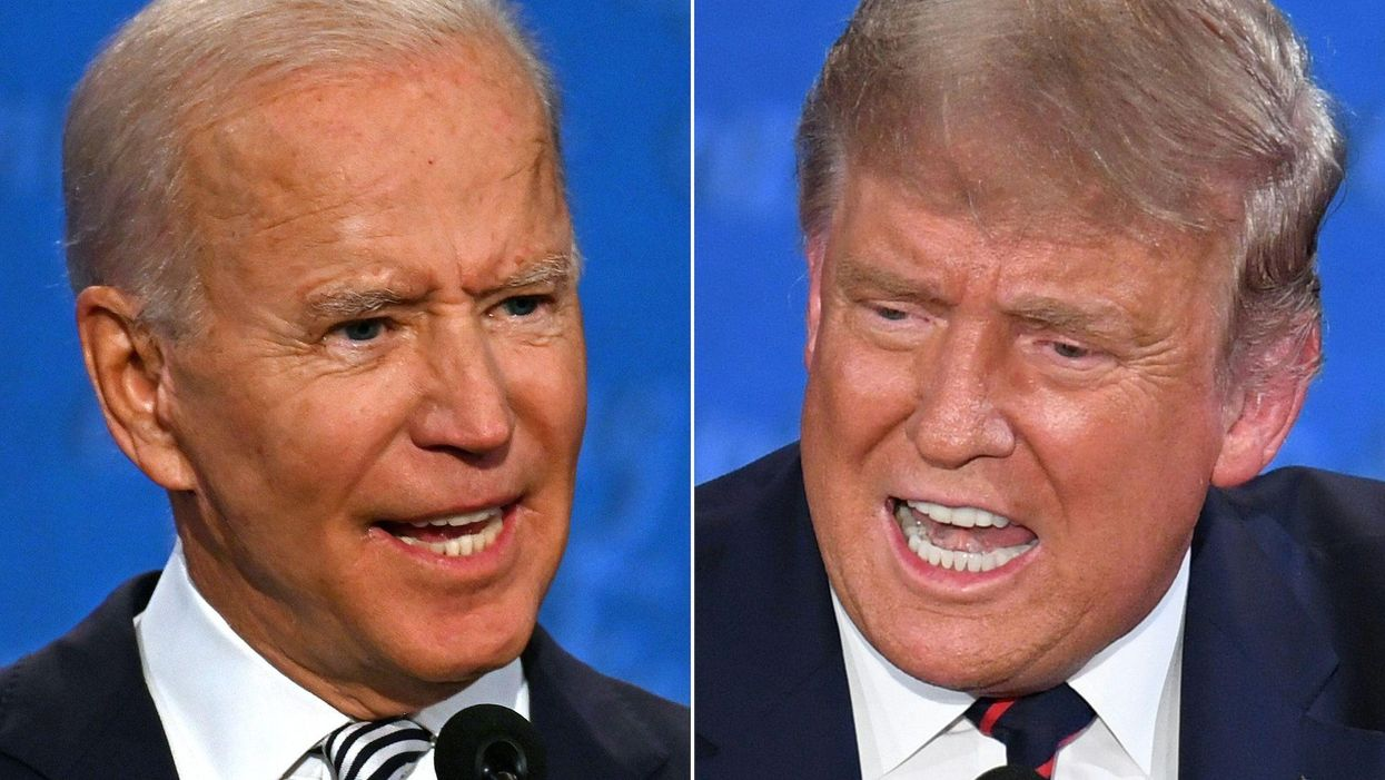 Trump blasts Biden for 'moronic move' that aids the 'deranged pseudo-science' of those resisting vaccines