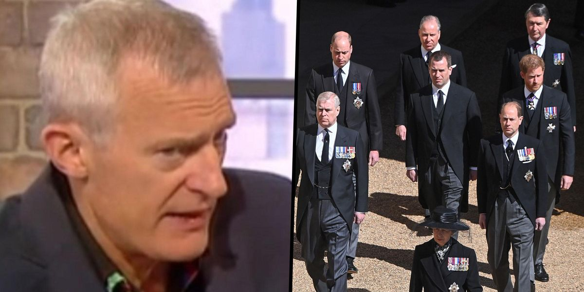 TV Host Slammed After Pointing Out That All of Prince Philip's Funeral Guests Were White