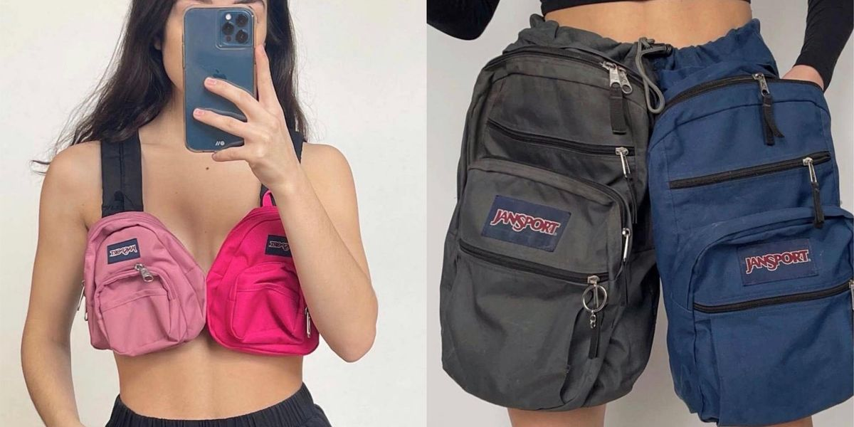 There's a New Way to Wear Your JanSport Backpacks