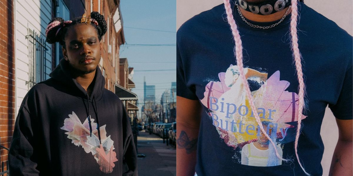 Shamir Debuts 'Bipolar Butterfly' Collection for Mental Health Awareness