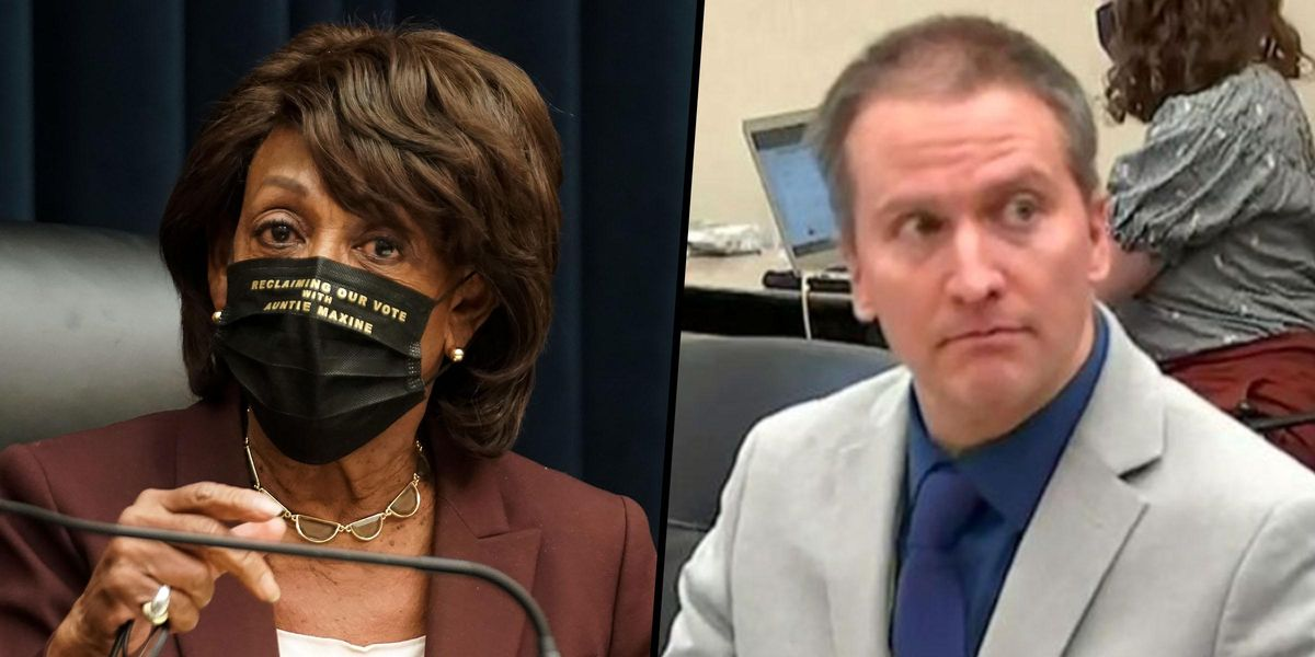 Judge in Derek Chauvin Trial Says Maxine Waters' Comments Could Lead to Whole Case 'Being Overturned'