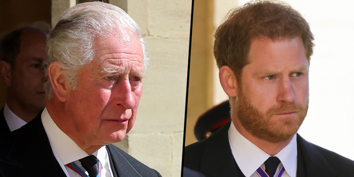 Harry Wrote 'Very Hurt' Prince Charles a 'Deeply Personal Letter' Ahead of Prince Philip's Funeral