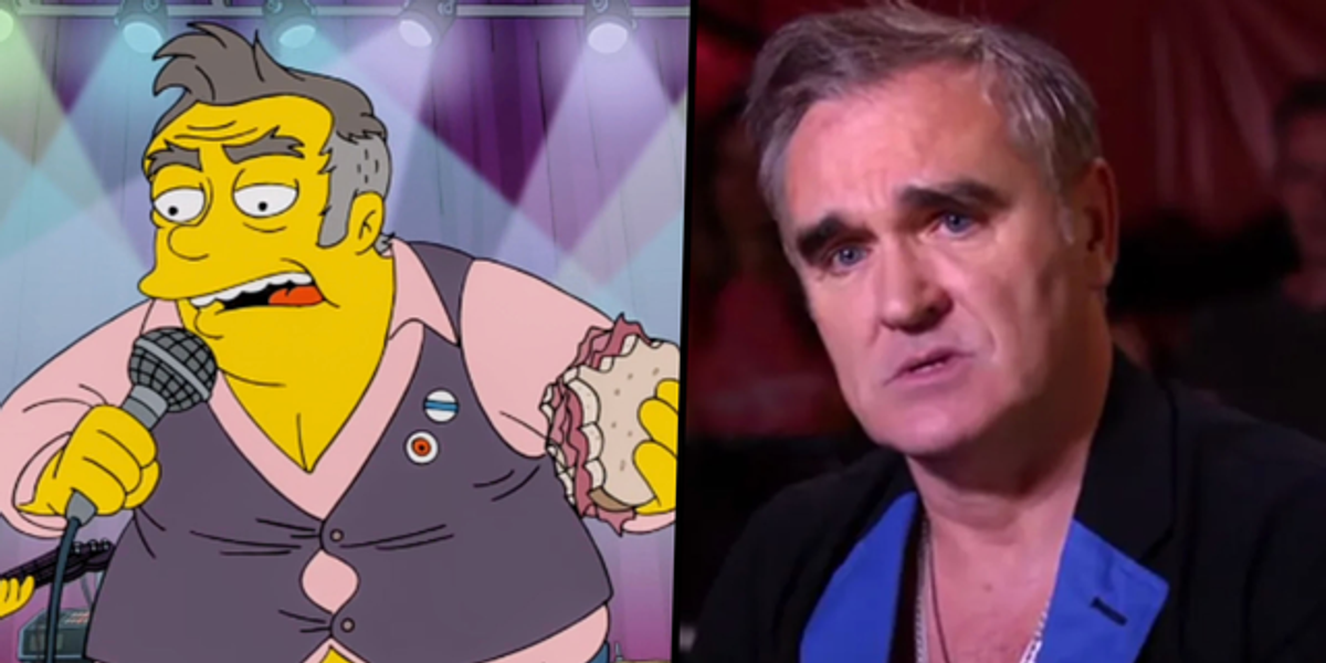 Morrissey Slams 'The Simpsons' for Depicting Him as an Overweight Racist