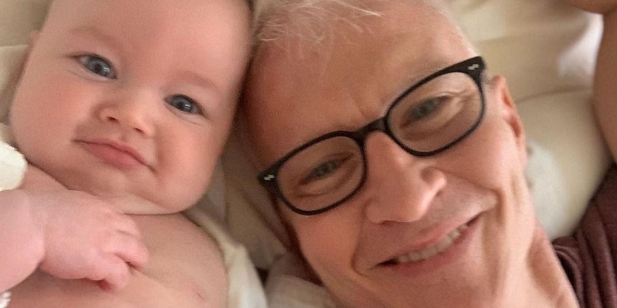 Anderson Cooper Shares Adorable Photo of His Son Wyatt Watching Him Host 'Jeopardy!'