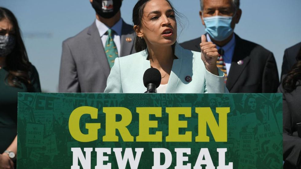 Reps. Ocasio-Cortez and Bush Introduce Green New Deal for Cities