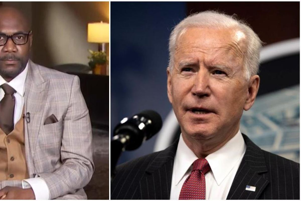Joe Biden called George Floyd's family to say he's 'praying' for them as they await the verdict
