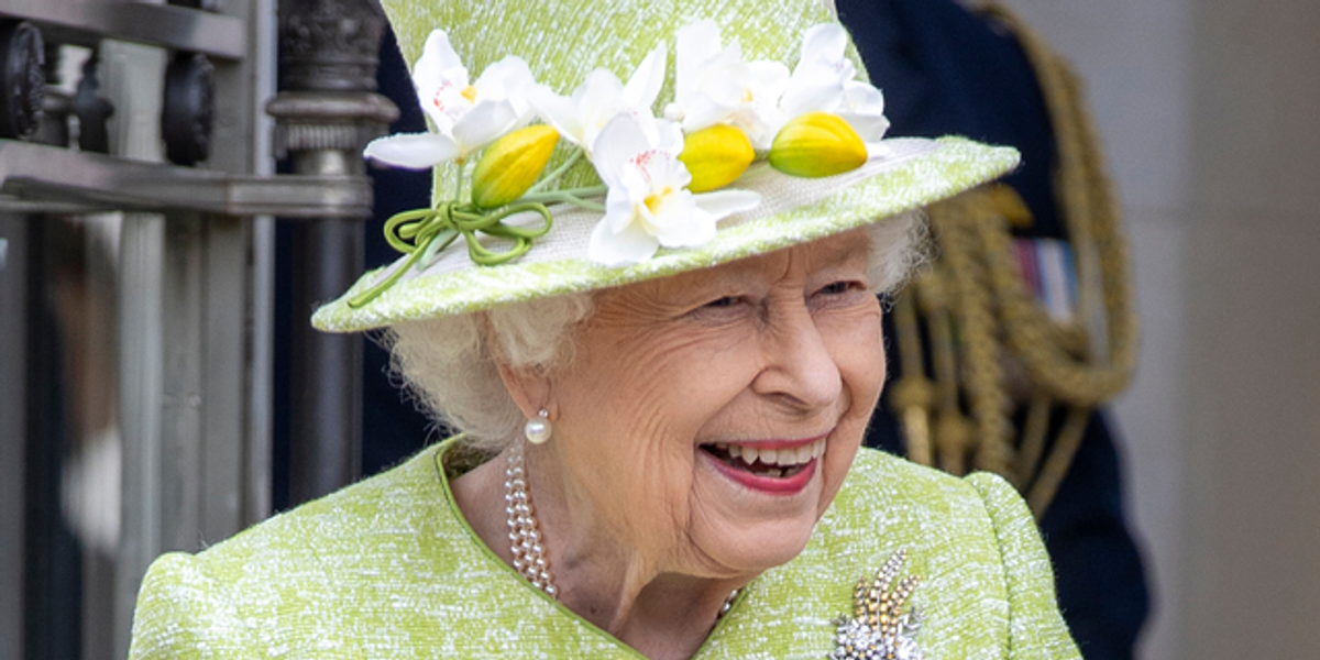 Royal Family Shares Smiling Photo of the Queen as She Marks First Birthday without Philip