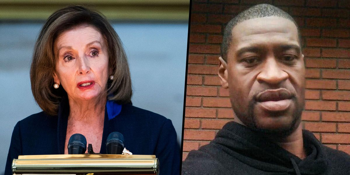 Nancy Pelosi Thanks George Floyd for 'Sacrificing' His Life 'for Justice' after Chauvin Guilty Verdict