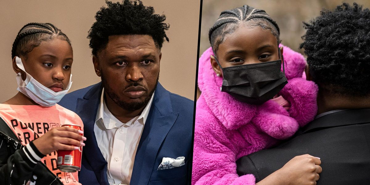 George Floyd's 6-Year-Old Daughter Attends Press Conference after Guilty Verdict