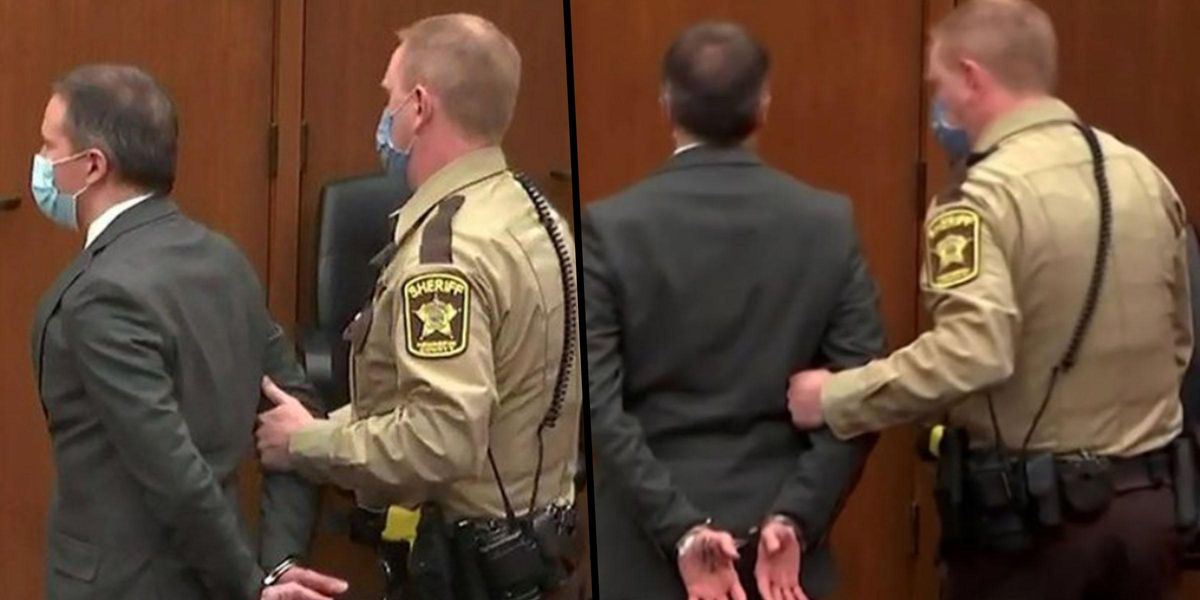 Note Derek Chauvin Wrote On His Hand Before Guilty Verdict May Hint at His Next Move