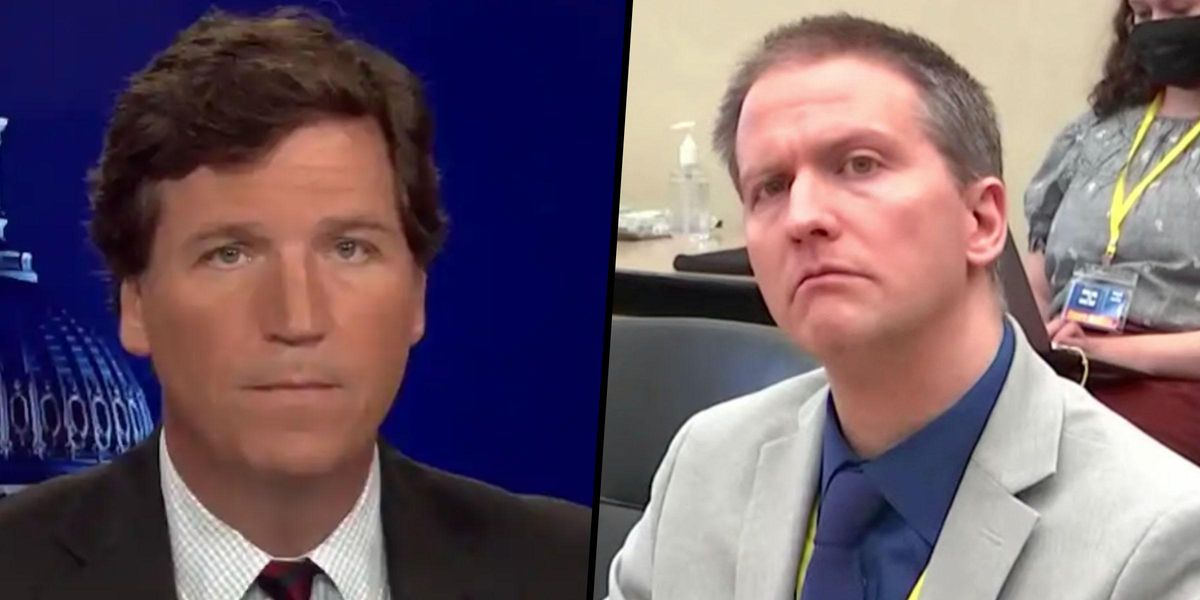 Tucker Carlson Suggests Derek Chauvin Jury Caved to 'the Mob' with Guilty Verdict