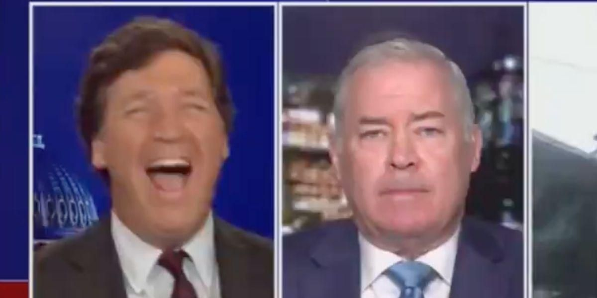 Tucker Carlson Laughs Maniacally And Abruptly Ends Interview After Guest Criticizes Chauvin After Verdict