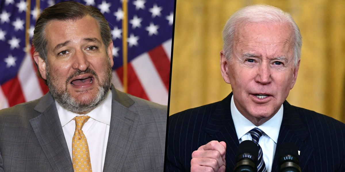 Ted Cruz Claims That Biden's Comments Ahead of Chauvin Trial Are 'Grounds for a Mistrial'
