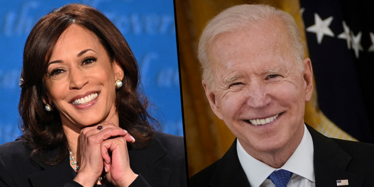 Kamala Harris Says Americans Are 'Sleeping Better' with Her and Joe Biden in Charge