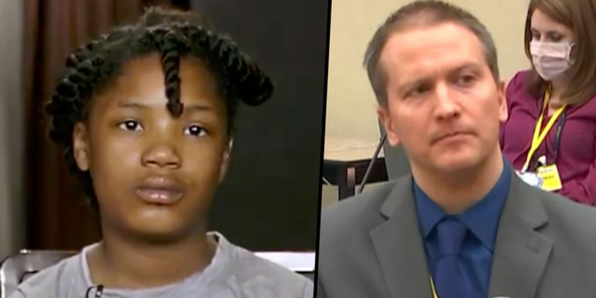 10-Year-Old Who Saw George Floyd's Murder Says She's 'Proud' She Helped Convict Chauvin