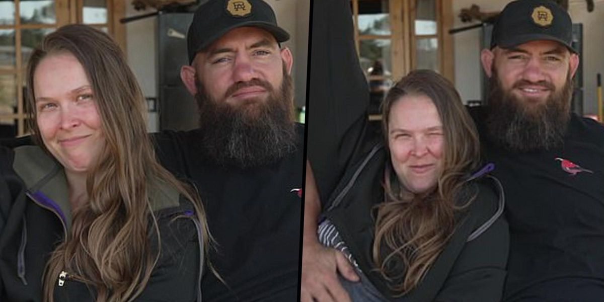 Ronda Rousey Is Expecting Her First Baby With Travis Browne