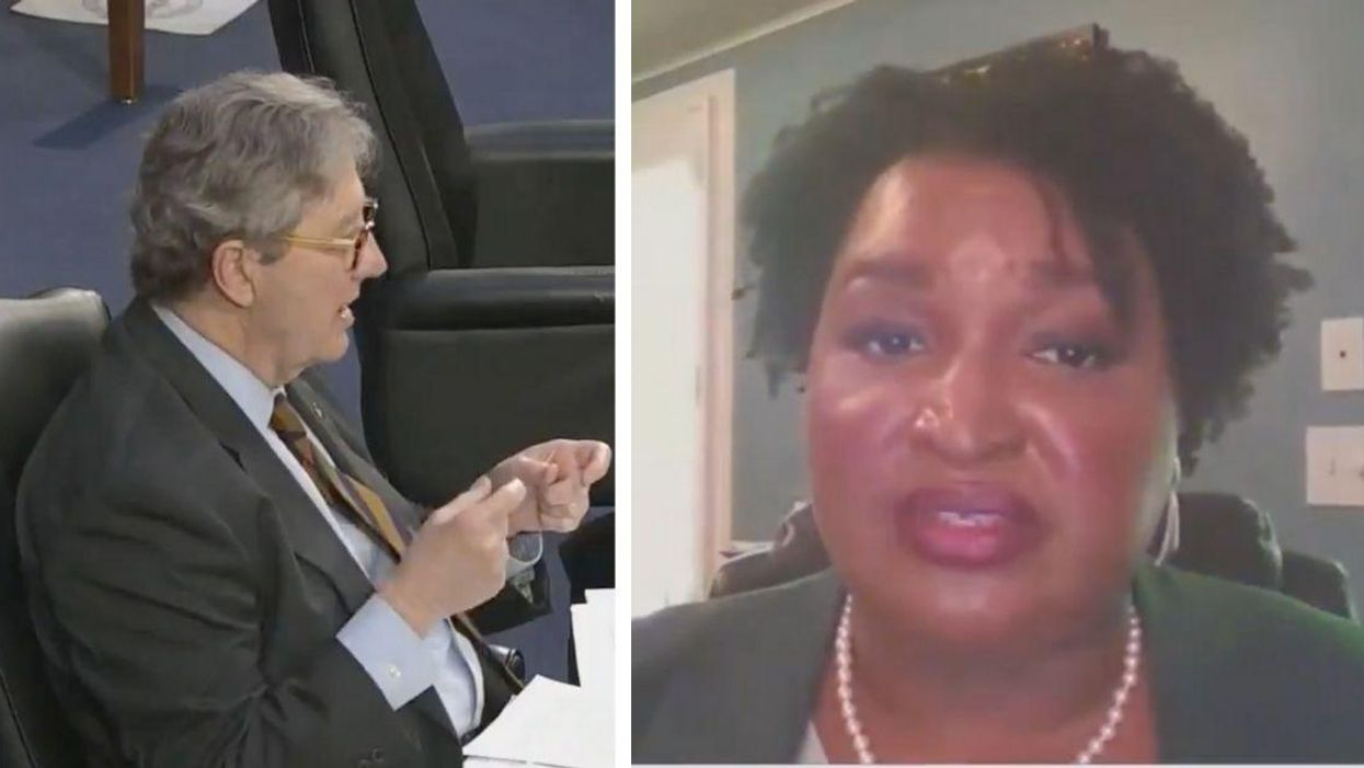 Stacey Abrams Makes GOP Sen. Instantly Regret Asking What Parts Of New GA Voting Law She Objects To