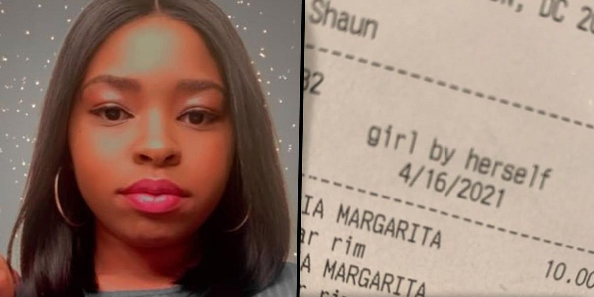 Woman Slams Barman for Describing Her as 'Girl by Herself' on Her Drinks Receipt
