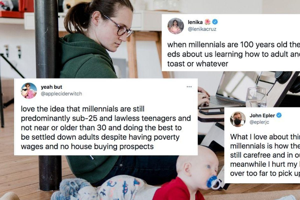 A cringey essay on 'easy breezy millennials' generated an avalanche of hilarious responses
