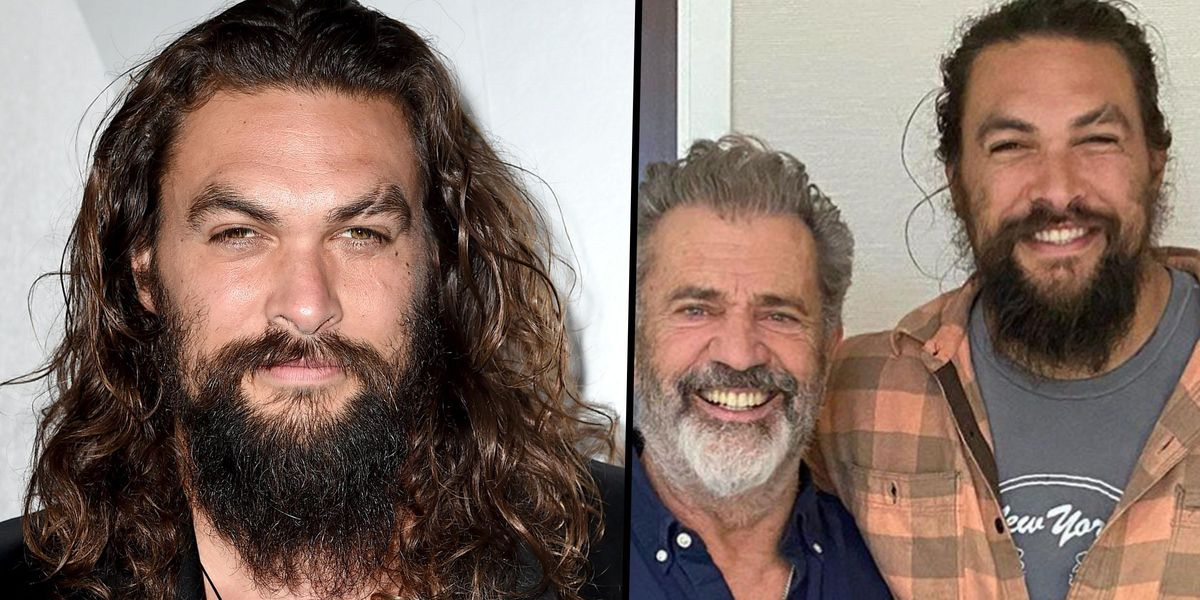 Fans Unfollow Jason Momoa After He Posted a Controversial Photo With Mel Gibson