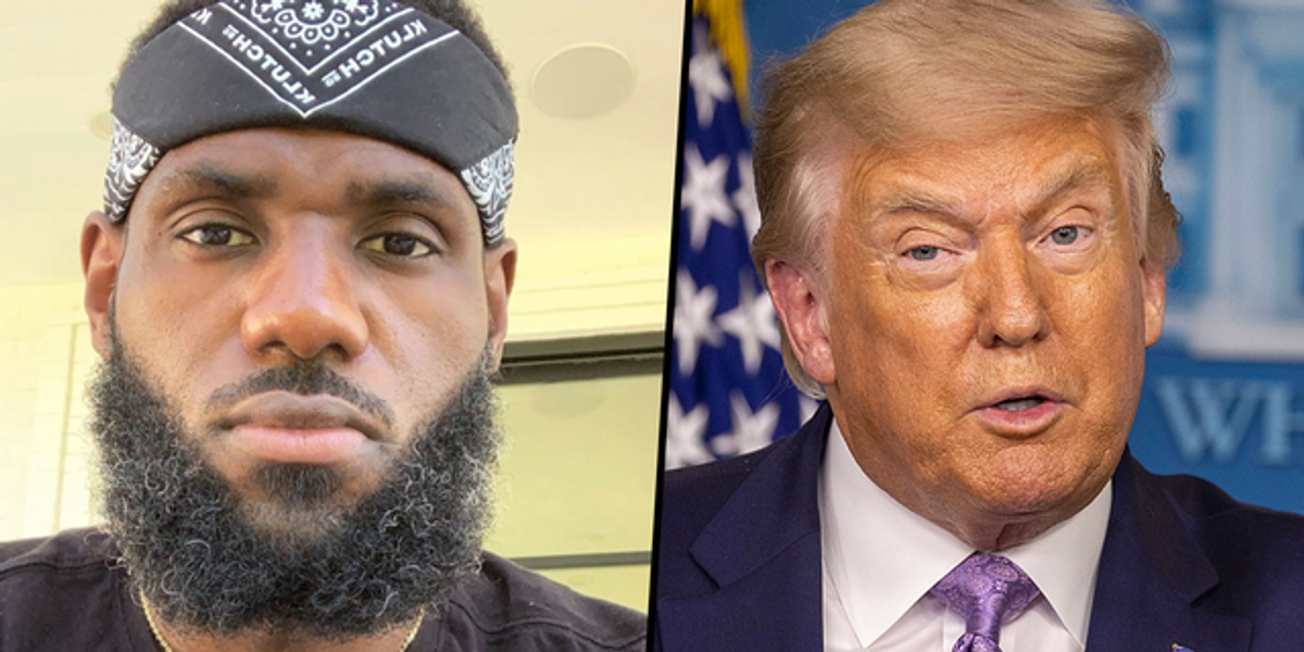Donald Trump Calls LeBron James 'Racist' Over Controversial Tweet