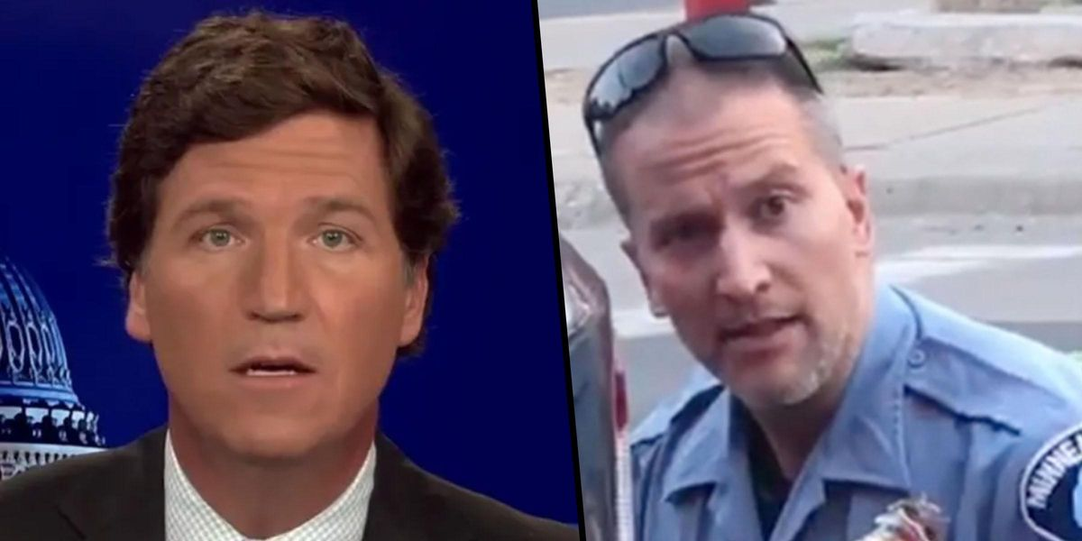 Tucker Carlson Says Derek Chauvin's Conviction 'Was America Paying Ransom'