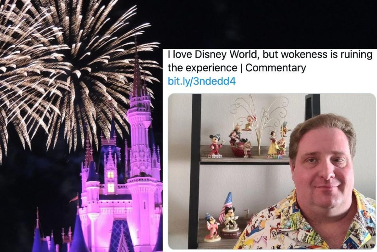 A Disney fan complained that 'wokeness is ruining' the Magic Kingdom and the responses are great
