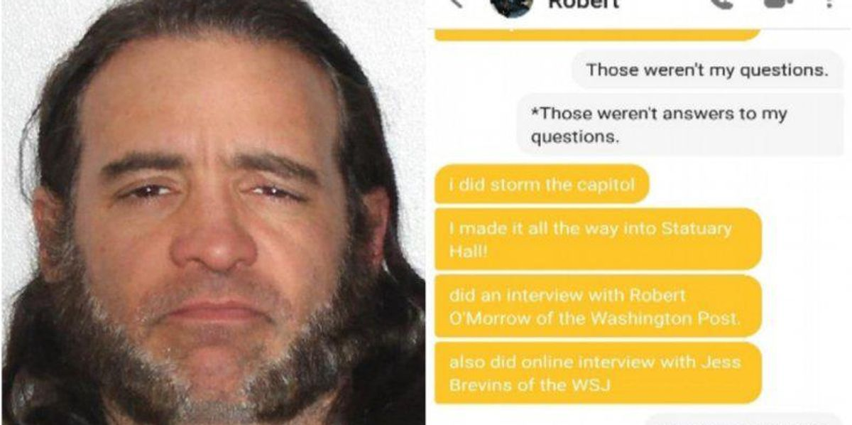 Capitol Rioter Arrested After Being Turned in by Bumble Match