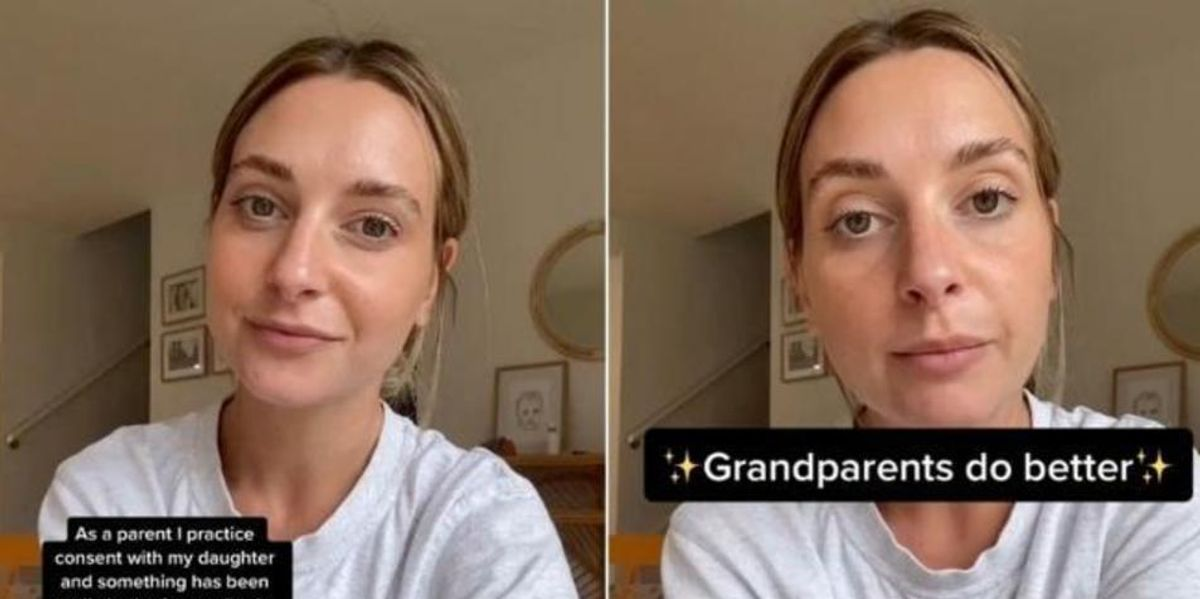 Mum Explains Why Grandparents Can't Hug Her Baby Without Consent
