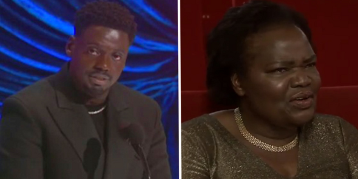 Daniel Kaluuya's Mom Had the Best Reaction After His Oscars Acceptance Speech