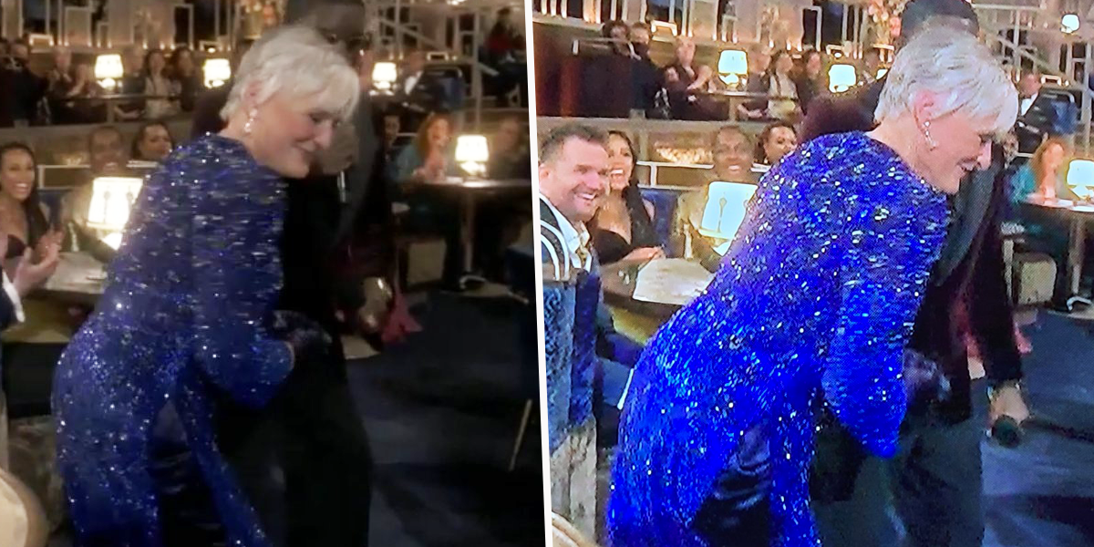 Glenn Close Just Twerked at the Oscars and Everyone's Obsessed