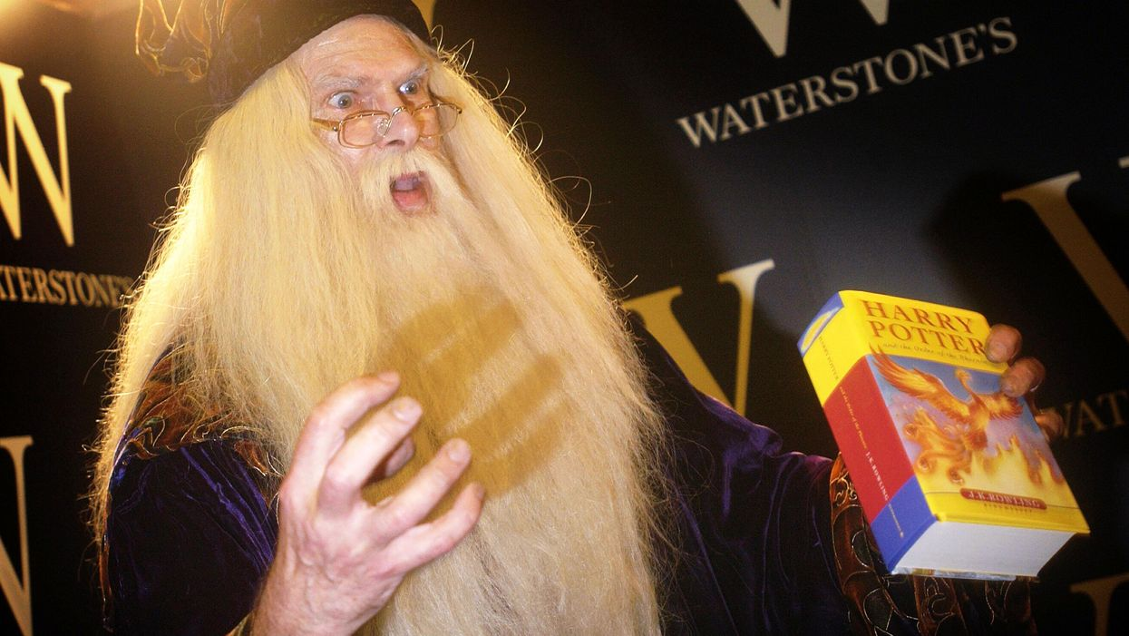 Is Dumbledore gay? The question highlights a deeper literary debate