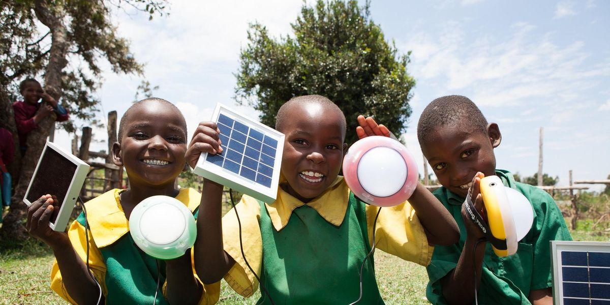 África energía solar limpia