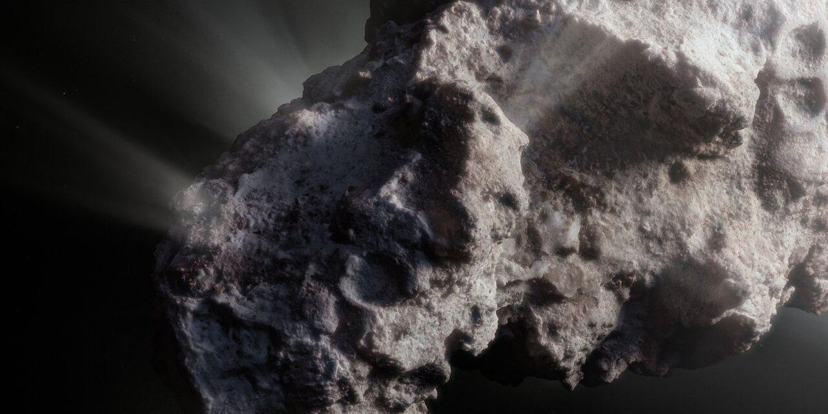 A rogue 'untouched' comet reveals clues about the origins of our solar system