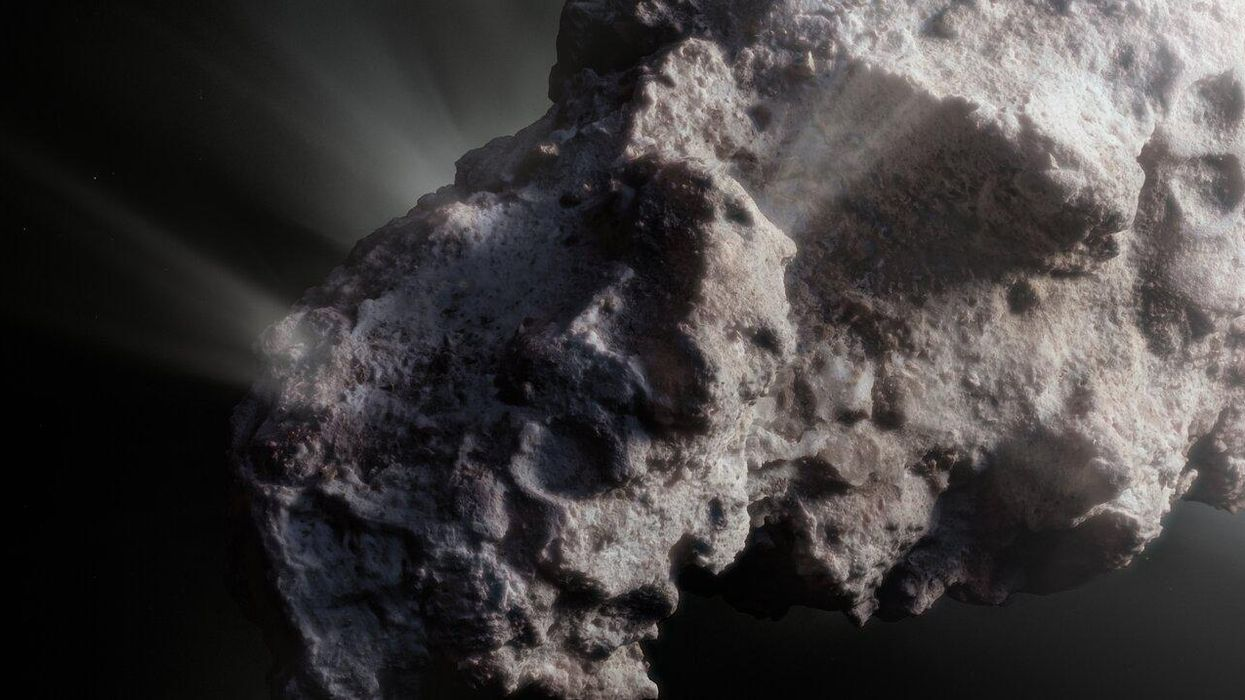 A rogue 'pristine' comet reveals clues about the origins of our Solar System