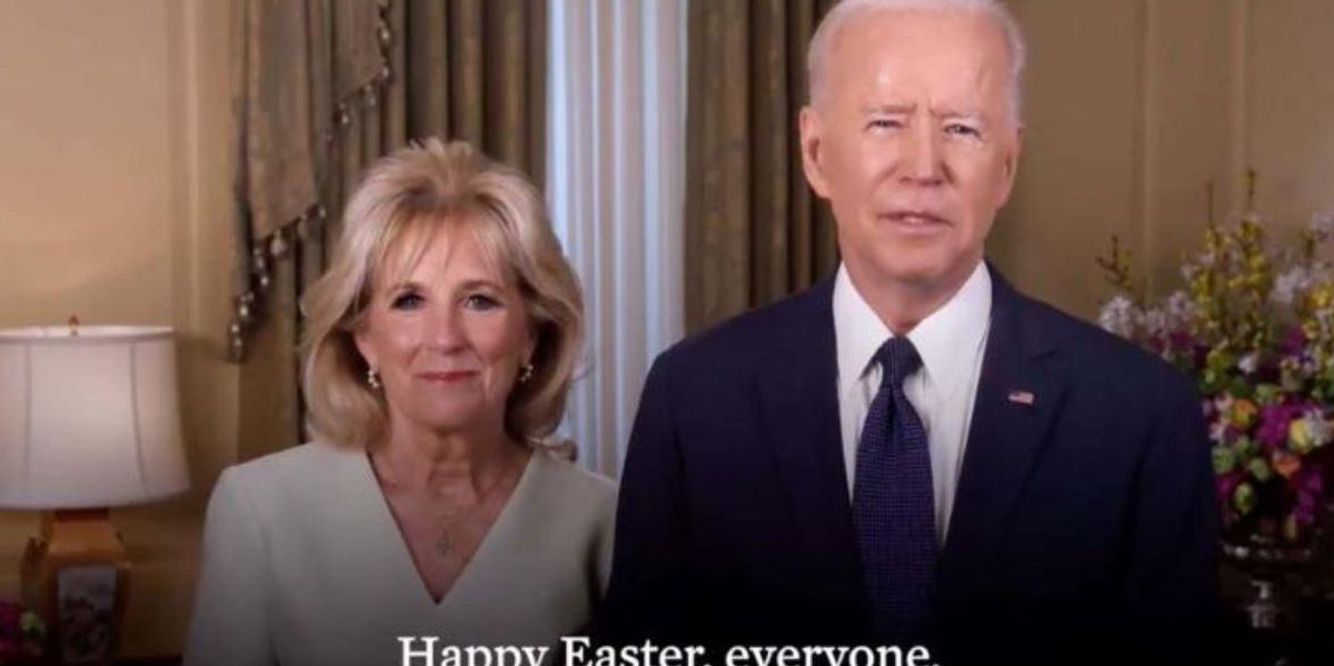 The Biden's Easter Message Has Completely Divided The Internet