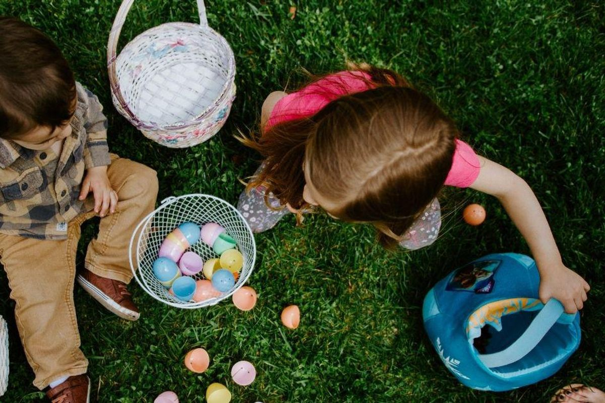A simple way to make egg hunts less stressful for everyone, courtesy of the Netherlands