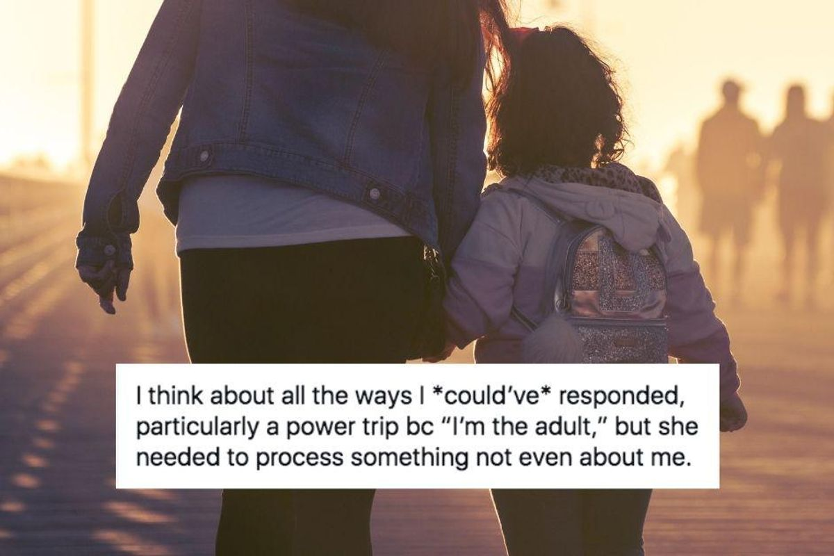 Mom shares a beautiful positive parenting example when her 6-year-old was rude to her