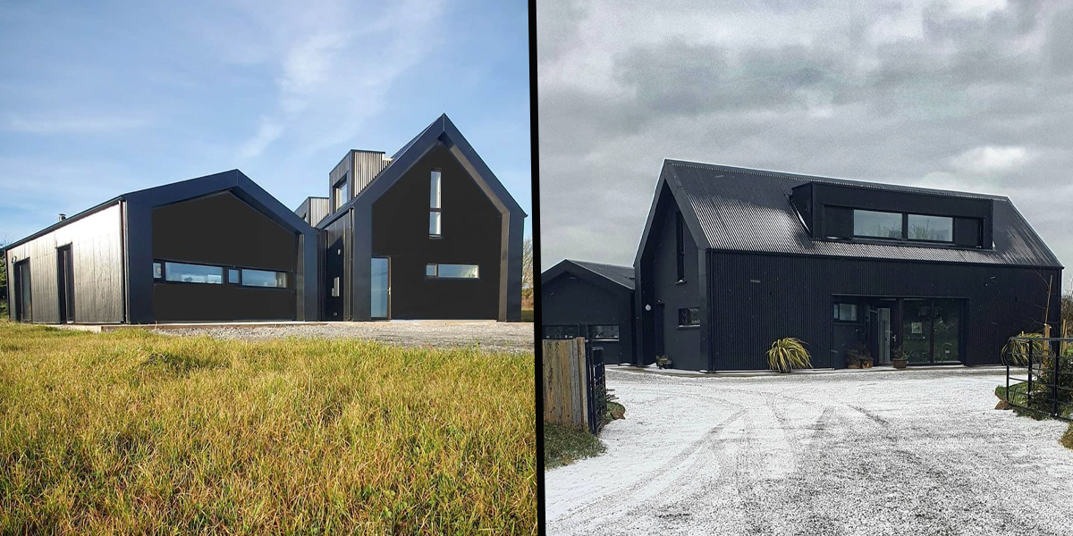 Man's 'Black House' Named Top Home of 2021 but People Are Divided by The Inside