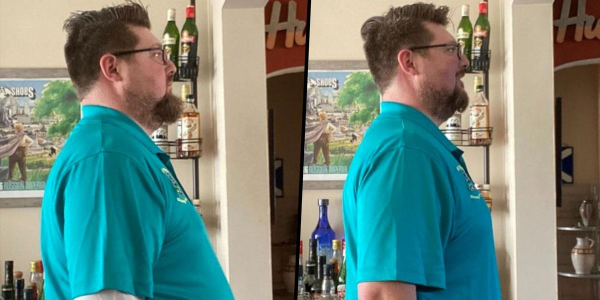 Man Loses More Than 18kg by Only Drinking Beer For Lent