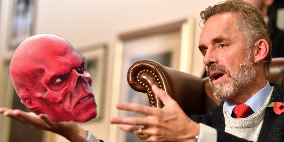 Jordan Peterson Shocked to Learn He's Always Been the Red Skull