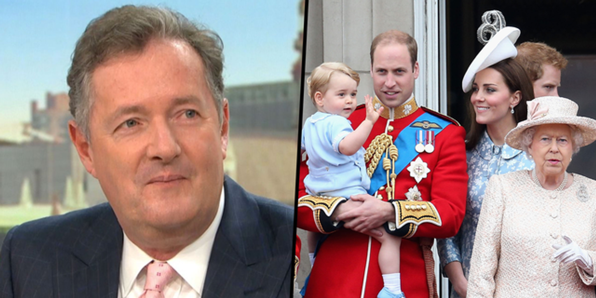 Piers Morgan Says He's Received Messages From the Royal Family Thanking Him