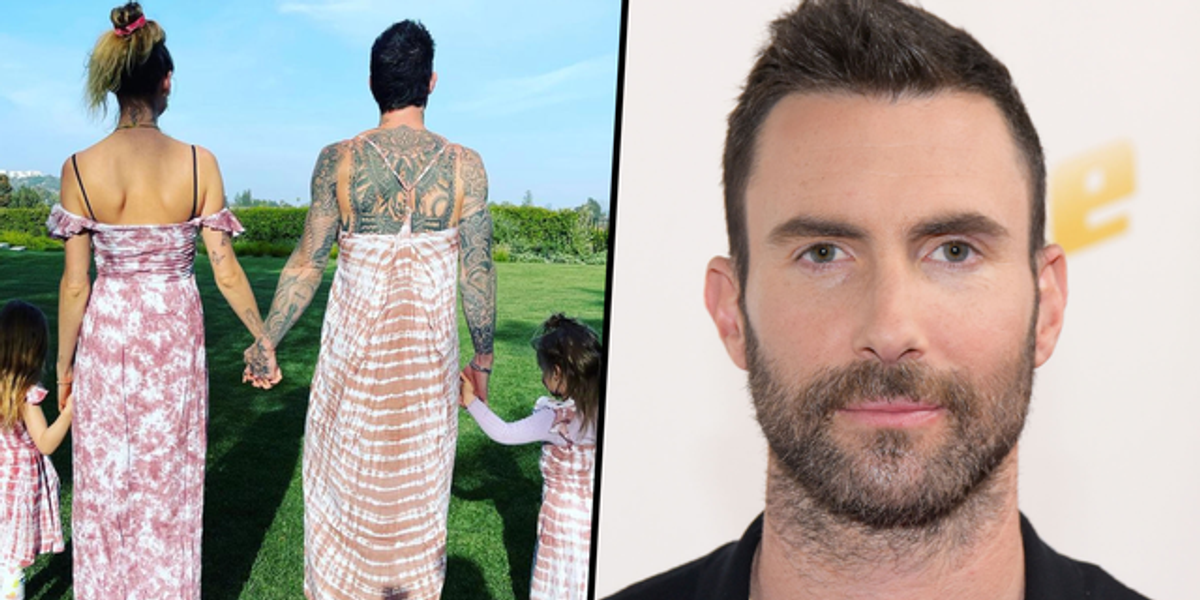 Adam Levine Praised For Wearing a Dress to Have a 'Girls Day' With His Wife and Two Daughters