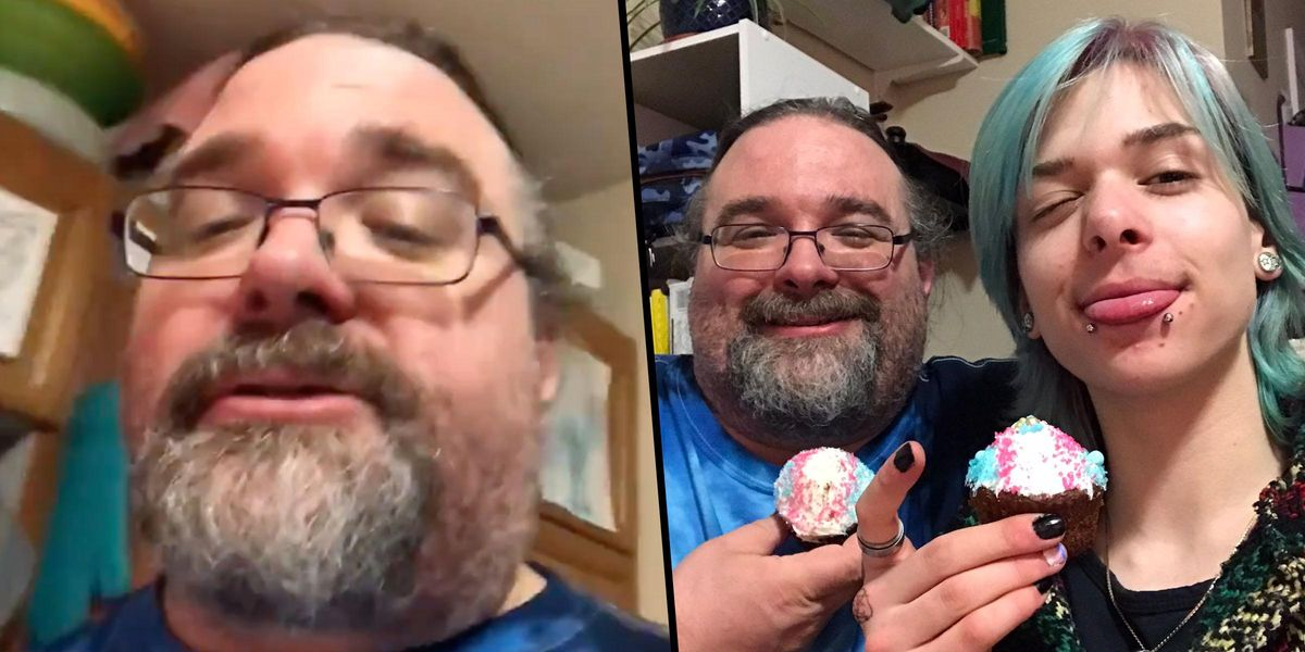 Dad Throws Trans Son a Party To Celebrate His Transition and It's so Heartwarming