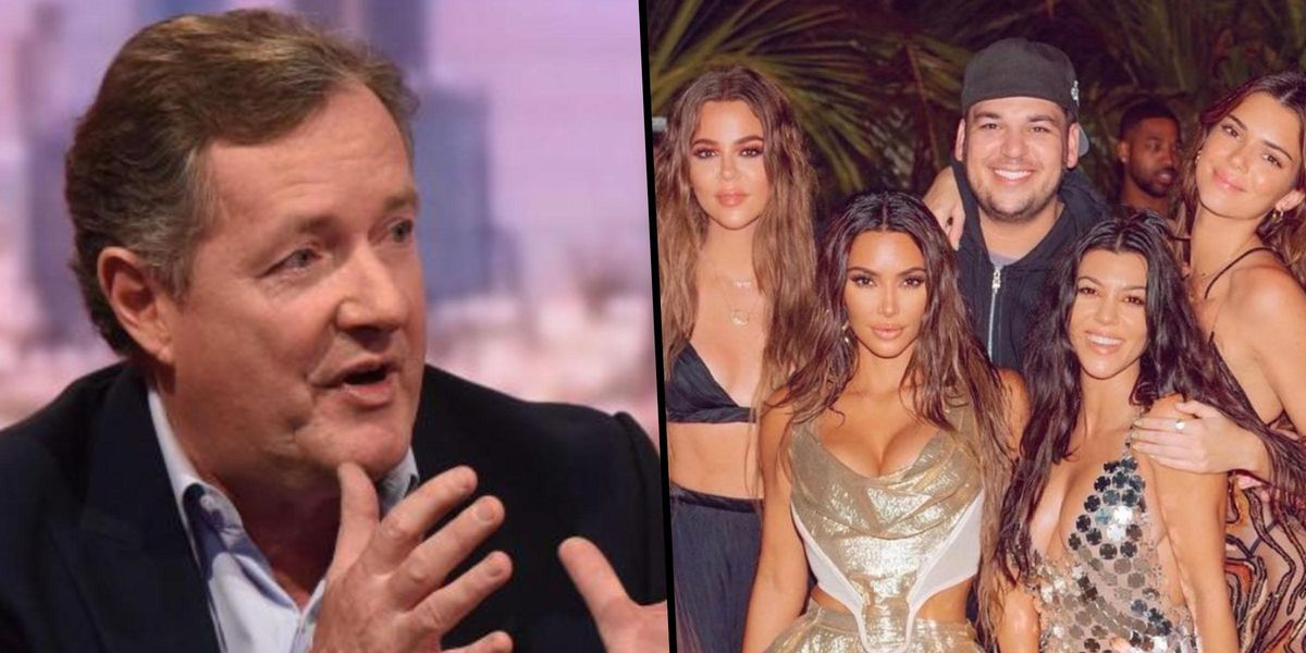 Piers Morgan Says Kardashian 'Scam Has Been Blown' by Khloe's Unedited Photo