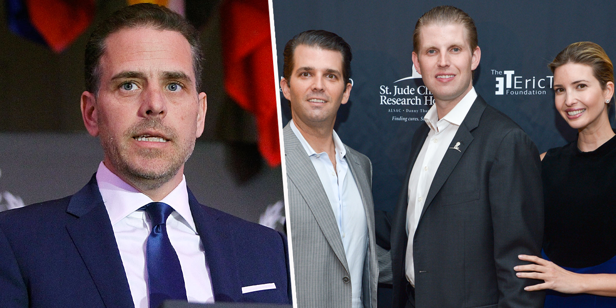 Hunter Biden Tells Ivanka, Donald Jr. and Eric Trump to 'Get a Job Without Daddy's Help'