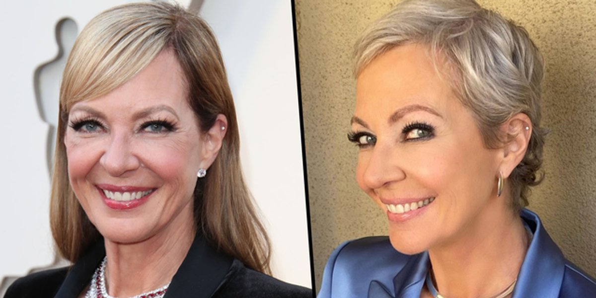 Allison Janney Says She Feels 'Free' Now She's Stopped Using Hair Dye and Extensions