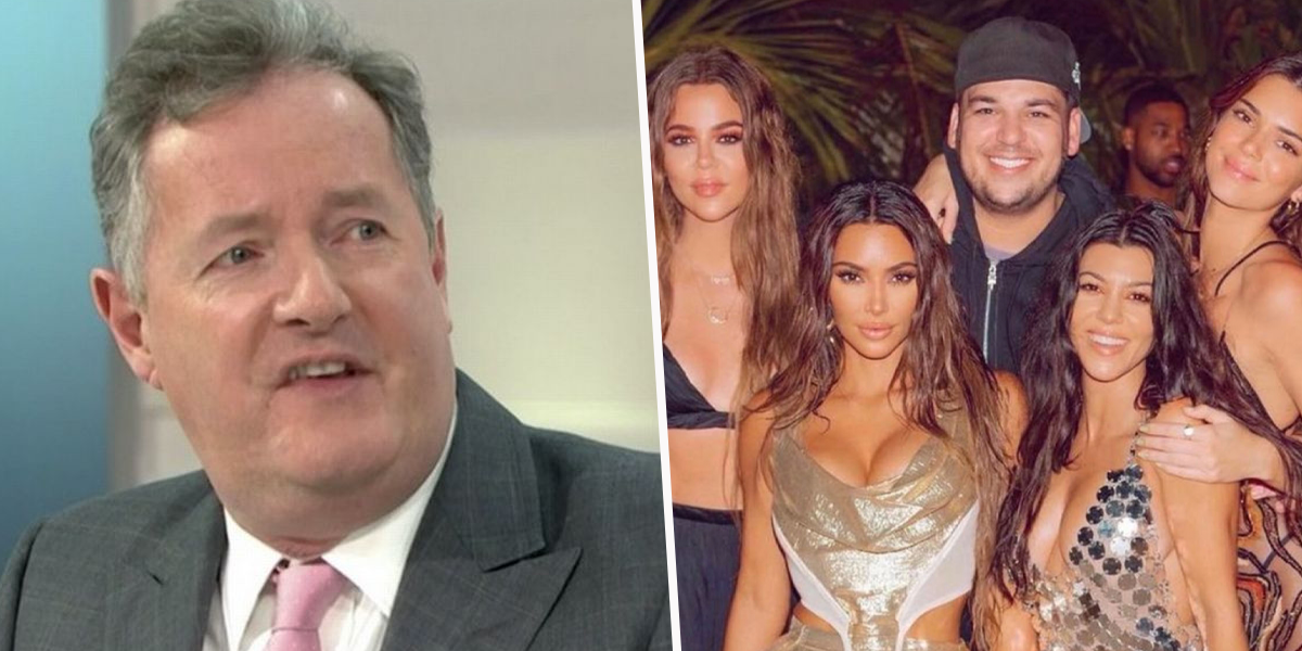Piers Morgan Says The Kardashian 'Scam Has Been Ruined' by Khloe's Unedited Photo
