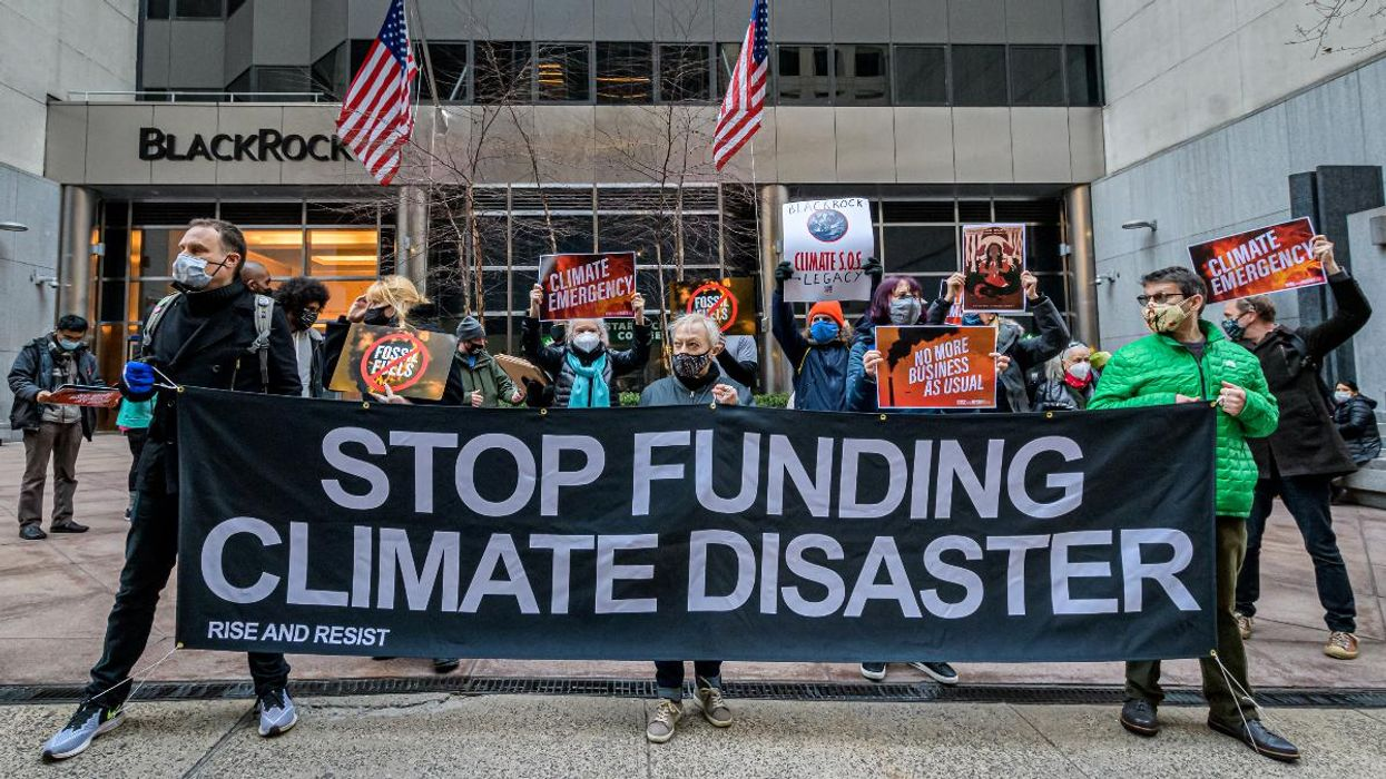 'Wall Street Is a Primary Villain' in Climate Crisis, Report Concludes
