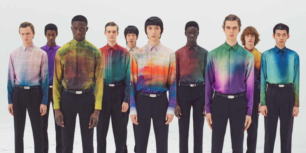 Berluti Takes a Rainbow Ride With Abstract Art